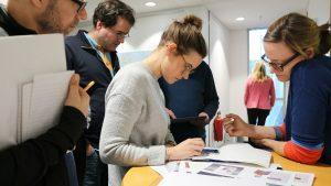 Das Projektteam bei der Arbeit. Foto: WDR