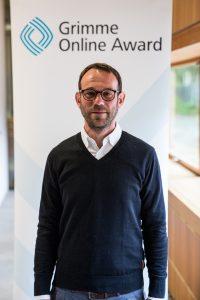 Florian Diekmann, einer der Autoren der Reportage; Foto: Grimme-Institut / Arkadiusz Goniwiecha