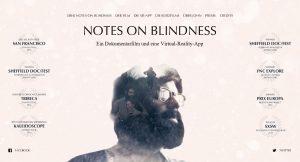 Notes on Blindness wurde mehrfach ausgezeichnet. Quelle: Screenshot Arte / NotesOnBlindness
