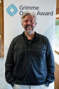 """Marcus von Jordan, Geschäftsführer von """"piqd - handverlesenswert"""". Foto: Grimme-Institut / Arkadiusz Goniwiecha"""
