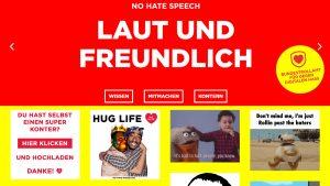 """Screenshot """"No Hate Speech"""""""
