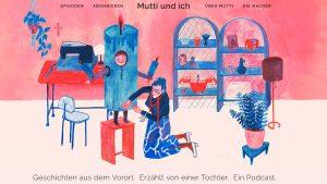 """Screenshot """"Mutti und ich""""."""