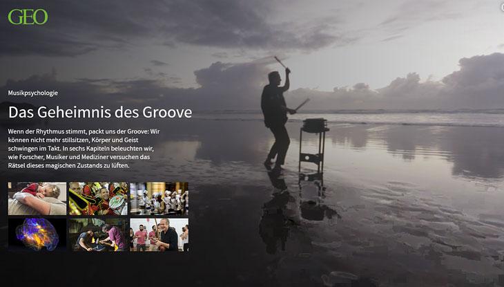 """Screenshot von """"Das Geheimnis des Groove"""""""