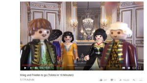 """Screenshot vom Video """"Krieg und Frieden to go (Tolstoi in 10 Minuten)"""""""