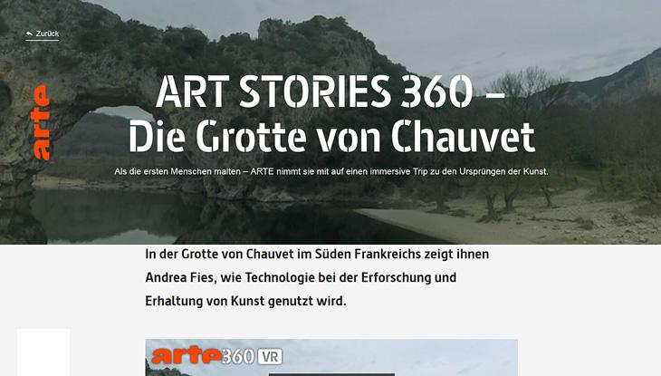 """Screenshot: """"Die Grotte von Chauvet"""""""