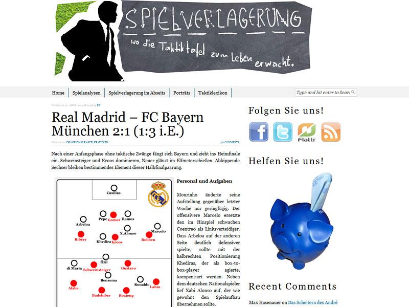 Screenshot: spielverlagerung.de/