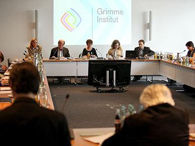 Bekanntgabe der Nominierten zum Grimme Online Award 2013 am 2. Mai Foto: Grimme-Institut / Arkadiusz Goniwiecha