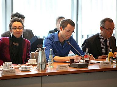 Tunay Önder, migrantenstadl und Markus Böhm, Kioskforscher Foto: Grimme-Institut / Arkadiusz Goniwiecha