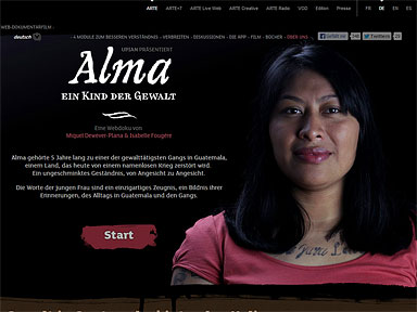 Screenshot Alma