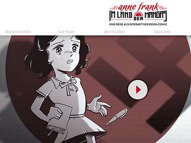 Anne Frank im Land der Mangas – App Screenshot