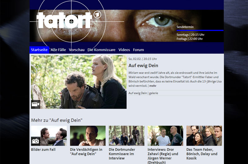Screenshot Tatort