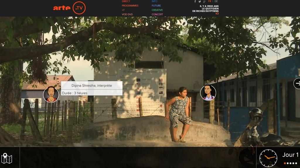 """Screenshot """"Refugees"""""""