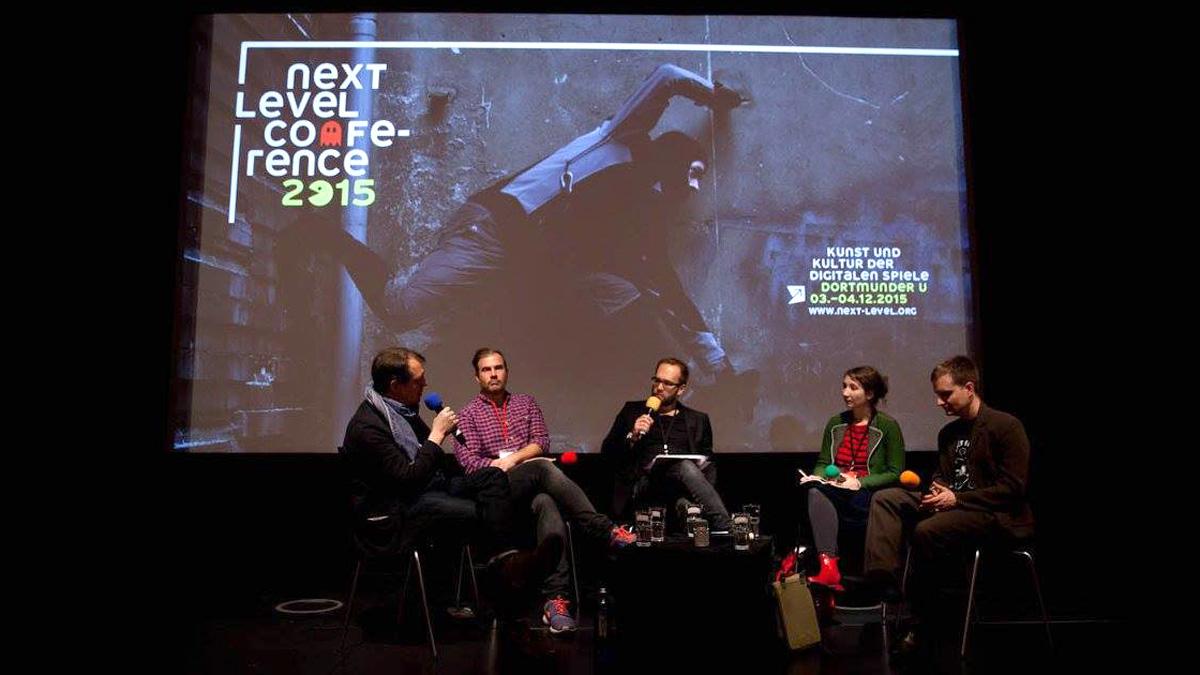 """Szene von der """"Next Level"""" 2015, Foto: NRWKS / Robin Junicke"""