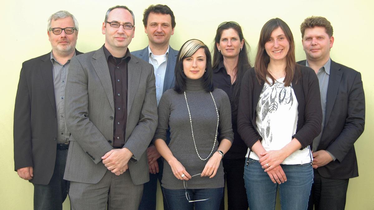 Jury 2012; Foto: Grimme-Institut