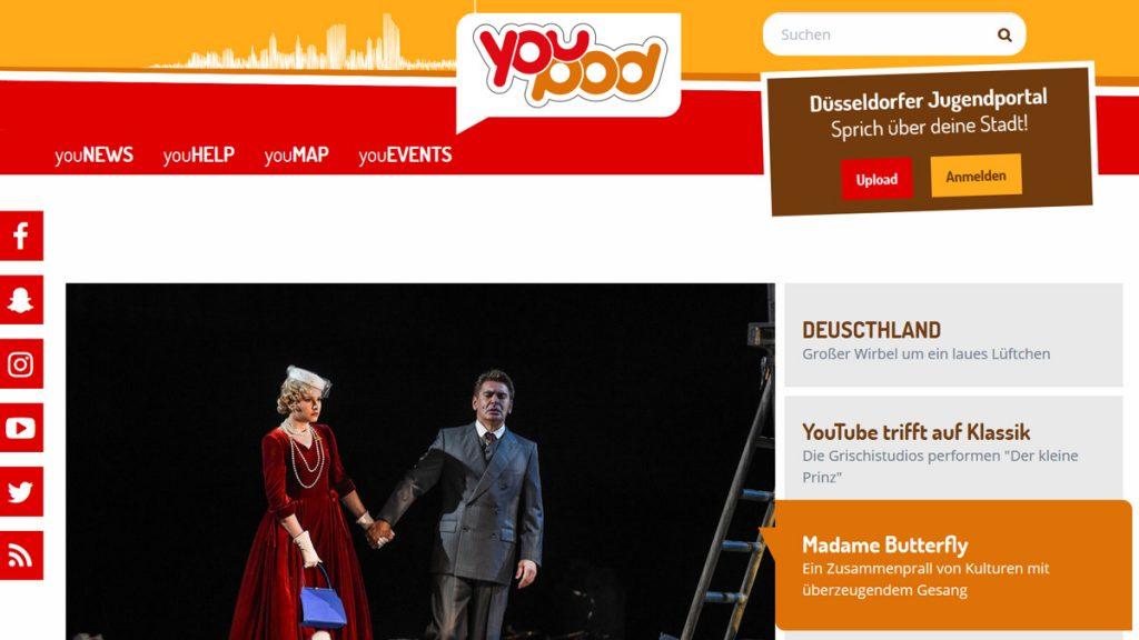 """Screenshot """"Youpod"""""""