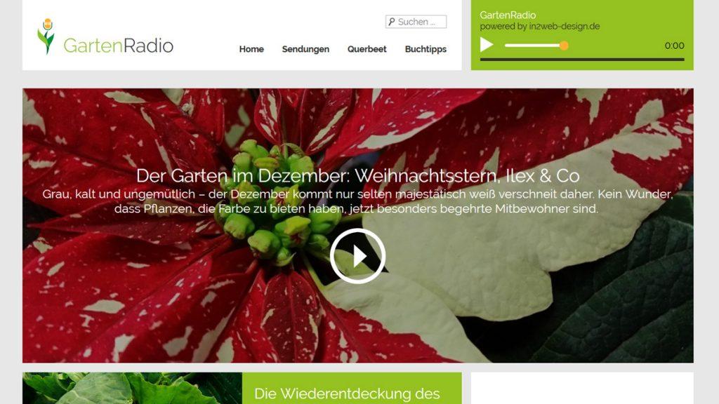 """Screenshot """"GartenRadio"""""""