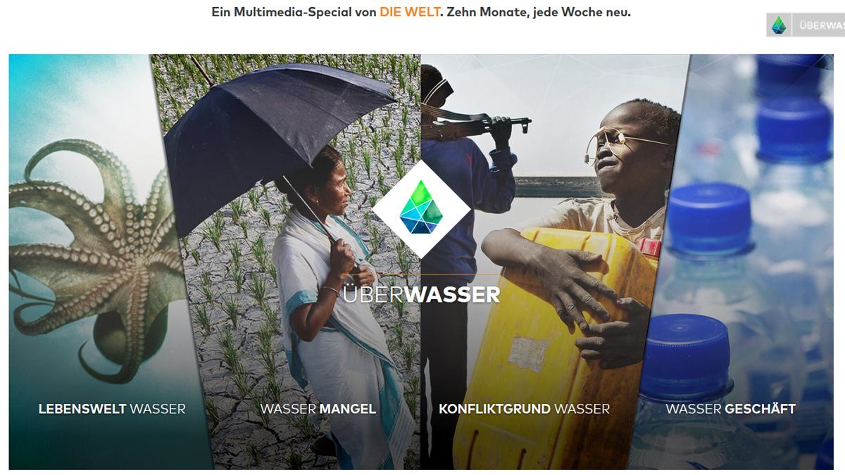 """Screenshot """"ÜberWasser"""""""