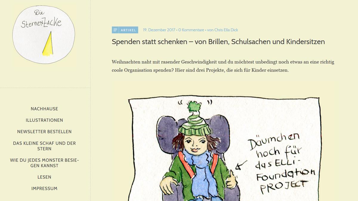 "Screenshot ""Die Sternenzacke"""