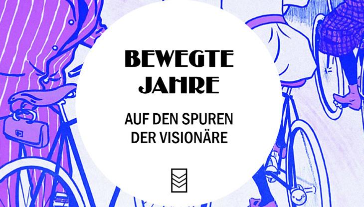 """Screenshot: Website """"Bewegte Jahre"""""""