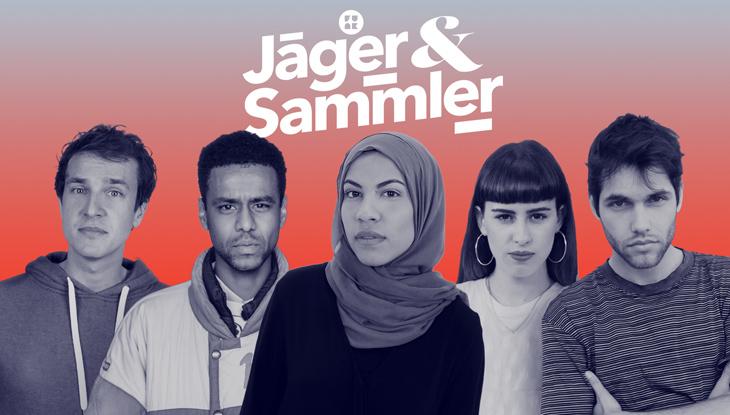 """Die Hosts von """"Jäger&Sammler""""; Foto: Nicolas de Leval Jezierski"""
