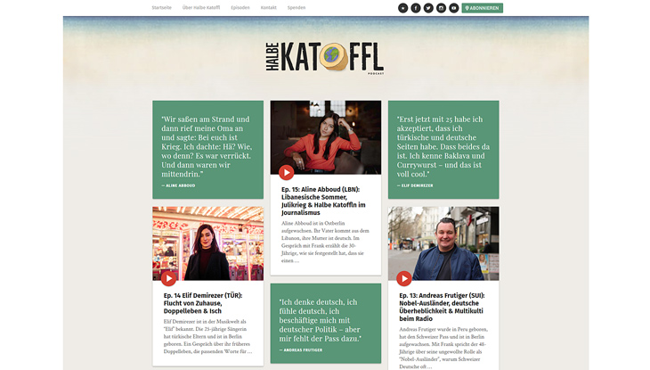 "Screenshot ""Halbe Katoffl"""