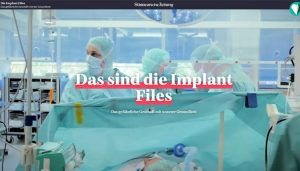 Screenshot: Implant Files