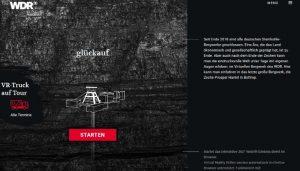Screenshot: Virtuelles Bergwerk WDR