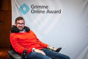 Christian Bär bei der Bekanntgabe der Nominierten Foto: Rainer Keuenhof / Grimme-Institut