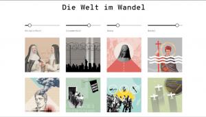 Screenshot: Website Bedrohte Ordnungen
