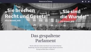 Screenshot: Das gespaltene Parlament