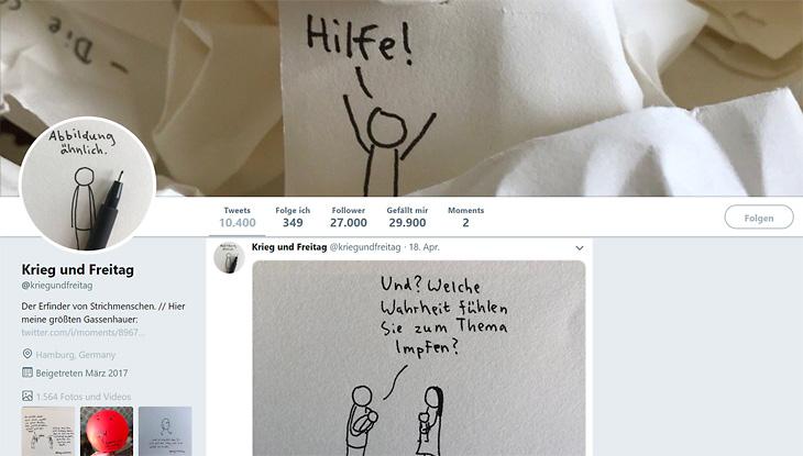 """Screenshot """"Krieg und Freitag"""""""