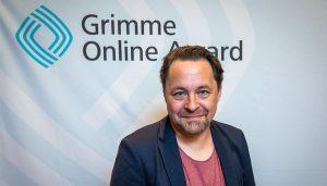 Christian Möller bei der Bekanntgabe der Nominierten für den Grimme Online Award 2019