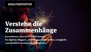 Screenshot Krautreporter