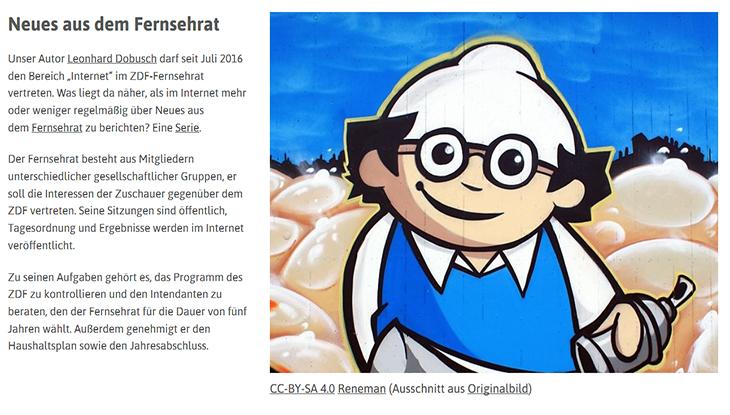 """Screenshot: """"Neues aus dem Fernsehrat"""""""