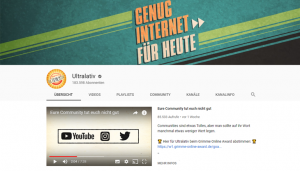"Screenshot: Youtube-Kanal ""Ultralativ"""