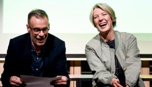 Johnny Haeusler und Tanja Haeusler zusammen auf der Bühne