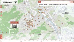 """Screenshot: """"Stadtlexikon Stuttgart"""""""