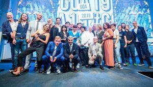 Alle Preisträger*innen des Grimme Online Award 2019. Foto: Gina Wetzler/Grimme-Institut