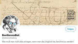 "Titelbild des Twitter-Accounts ""BeethovenBot""."