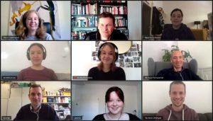 Nominierungskommission 2020 in Zoomkonferenz Screenshot