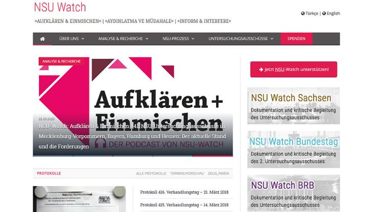 """Screenshot """"NSU-Watch"""""""
