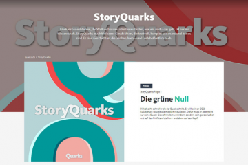 """Screenshot """"StoryQuarks"""""""