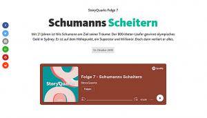 Screenshot der Folge 7: Schumanns Scheitern