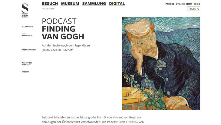 "Screenshot ""Finding van Gogh"""