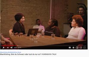 "Screenshot der Folge ""Blackfishing: Bist du Schwarz oder tust du nur so?"""