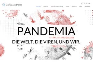 """Screenshot Podcast """"Pandemia"""" von Viertausendhertz"""
