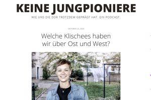 """Screenshot des Podcasts """"Keine Jungpioniere"""" von Lucas Görlach."""