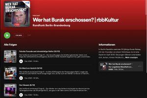 "Screenshot ""Wer hat Burak erschossen?"""