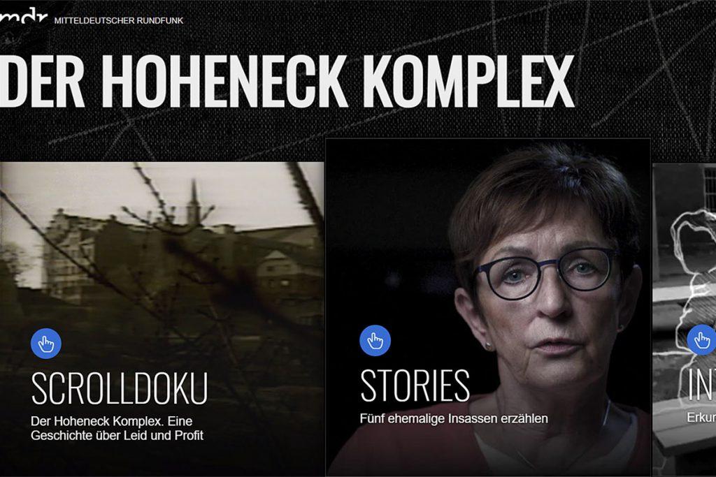 """Screenshot """"Der Hoheneck Komplex"""""""