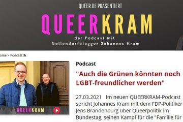 """Screenshot """"Queerkram"""""""